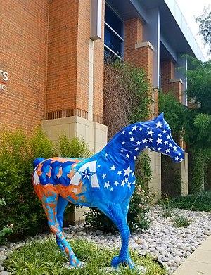 Texas–Arlington Mavericks - A Spirit Horse at the College Park Center