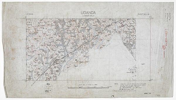 600px uganda. lower half sheet 86 uiii.xd. w.v.m. oct  1907 %28woos 13 5 4 3%29
