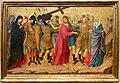 Ugolino di nerio, altare di santa croce, 1324-25 ca. 03 via crucis.jpg