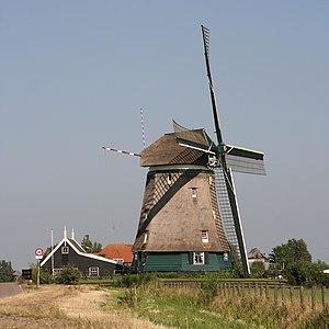 Uitgeest - Windmill Tweede Broekermolen in Uitgeest