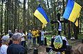 Ukrainian Delegation in Levashovo Memorial Cemetery 27.JPG