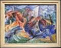 Umberto boccioni, cavallo+cavaliere+caseggiato, 1913-14 circa.jpg