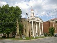 Union Monument in Vanceburg courthouse