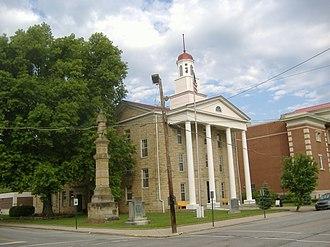 Union Monument in Vanceburg - Image: Union Monument in Vanceburg courthouse