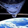 Unity-Zarya Meet on Orbit (49177404063).jpg