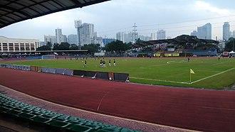 Kaya F.C.–Iloilo - The University of Makati Stadium, the home of Kaya during the inaugural 2017 season.