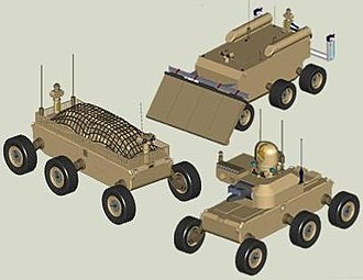 Multifunctional Utility/Logistics and Equipment vehicle - From top to bottom:XM1218, XM1217, XM1219