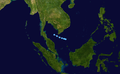 Unnamed WPAC Oct TD 1963 track.png