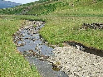 Liddel Water - Upper reaches of Liddel Water