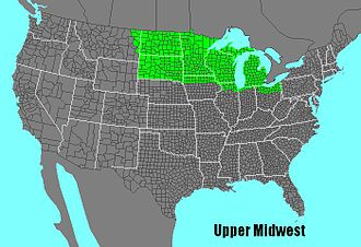 Upper Midwest -  The Upper Midwest region of the United States