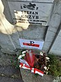 Uroczystości upamiętniające powstanie warszawskie na Cmentarzu Centralnym w Sanoku (2020-08-01)b.jpg