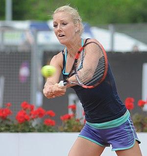 Urszula Radwańska - Urszula Radwańska at the 2014 Internazionali BNL d'Italia