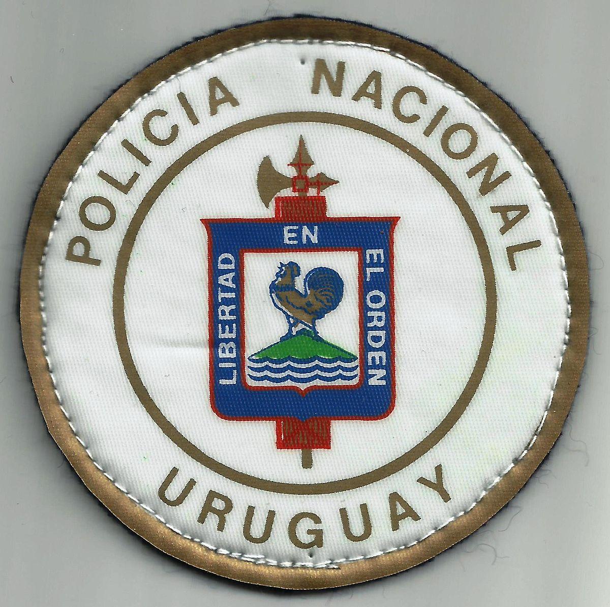 Polic a nacional de uruguay wikipedia la enciclopedia libre for Ministerio policia nacional