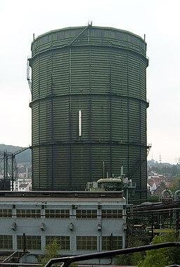 Scheibengasbehälter der Völklinger Hütte Gasometer 2