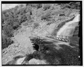 "VIEW OF CRANE FALLS BRIDGE. LOOKING N. GIS- N-37""41'26.7""-W-119""46'02.6 - Foresta Road, Yosemite Village, Mariposa County, CA HAER CA-321-5.tif"