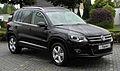 VW Tiguan Sport & Style 2.0 TDI 4MOTION BlueMotion Technology (Facelift) – Frontansicht (1), 24. Juni 2011, Velbert.jpg