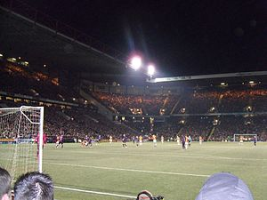 West Yorkshire derby - Valley Parade