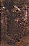 Van Gogh - Bäuerin im Hausflur stehend.jpeg