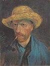 Van Gogh - Selbstbildnis mit Strohhut und Pfeife.jpeg