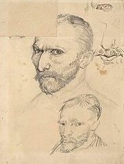 Trois autoportraits