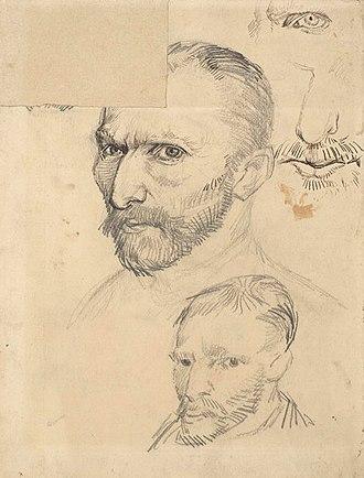 Portraits of Vincent van Gogh - Image: Van Gogh Selbstbildnisse