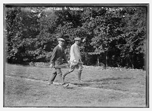 1913 U.S. Open (golf) - Fred McLeod and Harry Vardon at the 1913 U.S. Open