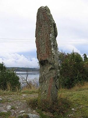 Ingvar runestones - Runestone U 654