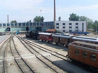 Hungarian Railway History Park - Image: Vasuttorteneti park 010