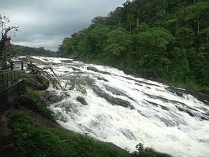 Vazhachal Falls - Image: Vazhachal Falls