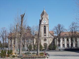 Vecsés Town in Pest, Hungary