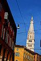 Veduta Torre Ghirlandina Modena.JPG