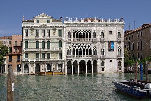 Venezia Palazzo Giusti e Ca' d'Oro 001