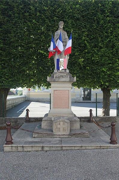 Monument aux morts de Vercel (Doubs).