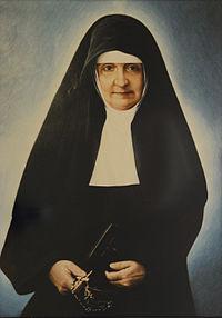 Resultado de imagen para Santa MARÍA BERNARDA BÜTLER,