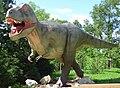 Veszprém zoo 2016 - Tyrannosaurus rex szobra.jpg