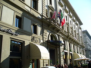 English: Savoy, Via Roma (Florence)