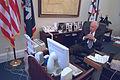 Vice President Cheney Watches Television (19728895808).jpg