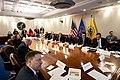 Vice President Pence meets with the Coronavirus Taskforce (49596576162).jpg