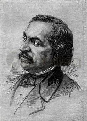 """Le Mulâtre - Victor Séjour, author of """"The Mulatto"""""""