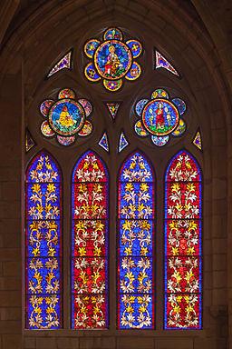 Vidreira da catedral de León 48