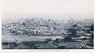 Timeline of Kano - Kano city, Nigeria, circa 1910s