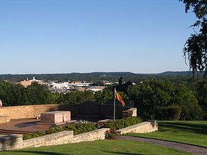 Rogers County, Oklahoma - View of Claremore's skyline