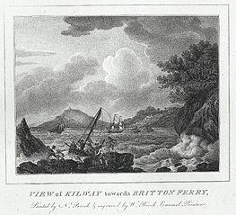 View of Kilway towards Britton Ferry