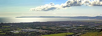 Bridgend County Borough - Image: View over Aberafan to Mumbles panoramio