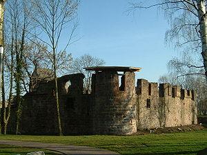 Burgfestspiele Bad Vilbel - Image: Vilbel März 07 009