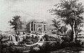 Villa Berg, Ansicht von Südosten, 1852.jpg