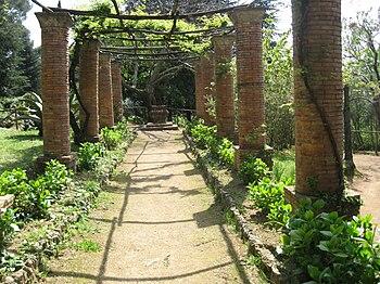 English: Ravello: Villa Cimbrone Gardens