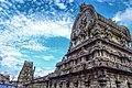 Vimana of Pandava Dhootha Temple, Kanchipuram.jpg