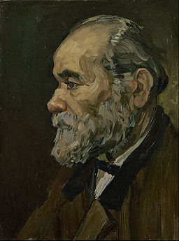 Vincent van Gogh - Portrait of an old man - Google Art Project