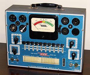 Eico - Image: Vintage Eico Electronic Tube Tester, Model 625, Circa 1950 1952 (14949422216)